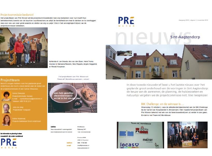 Pré Wonen brengt 143 woningen in voor BIK-Challenge