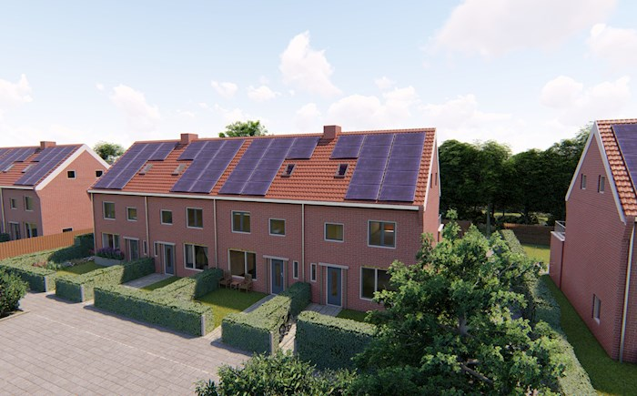 Grote duurzaamheidsslag.  Weer prettig wonen in 70 jaar oude woningen.