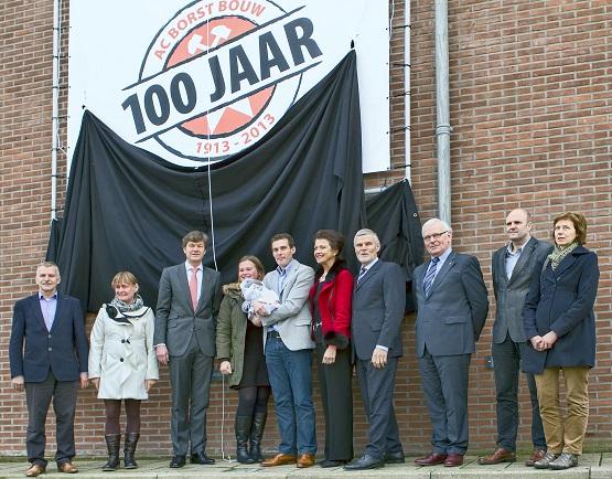 AC Borst Bouw viert 100 jarig jubileum